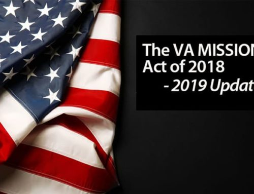 VA MISSION Act of 2018 – Update